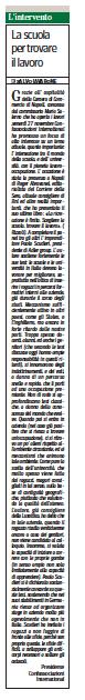 Corriere Mezzogiorno Economia, 7 dicembre 2015