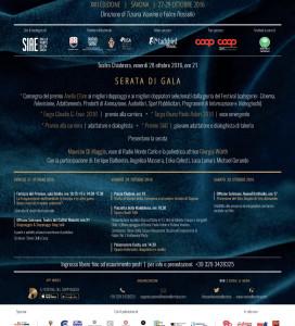 Cultura, cinema e arte per dar voce al talento internazionale e alla professionalità dei doppiatori italiani