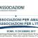 CONFASSOCIAZIONI PER AMATRICE CONFASSOCIAZIONI PER L'ITALIA