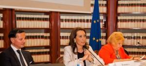 da sinistra: Angelo Deiana, Federica De Pasquale, Maria Concetta Oliver