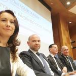 da sx:   Federica De Pasquale, Franco Pagani Angelo Deiana, Riccardo Alemanno